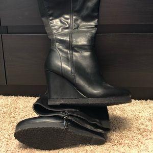 Wide Calf Lane Bryant boots